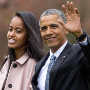 ابنة أوباما ترقص في ملهىى ليلي بأمستردام!