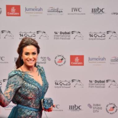بالصور:هكذا تألق النجوم في افتتاح الدورة الـ 14 لمهرجان دبي السينمائي