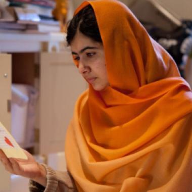 ملالا يوسف زاي سعيدة بقبولها في جامعة أوكسفورد