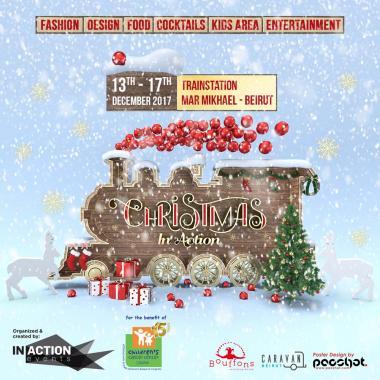 In Action Events تنظم معرضها الميلادي السنوي لإهداف إنسانية