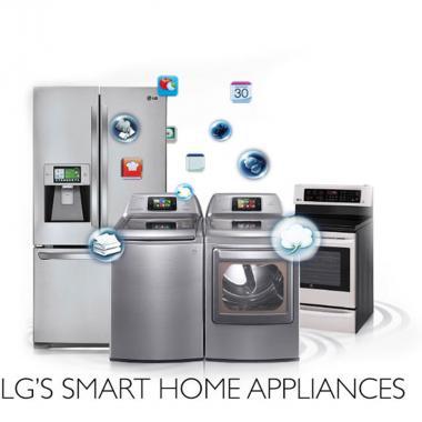 LG ELECTRONICS تعيد تعرفة بيئة المعيشة المنزلية
