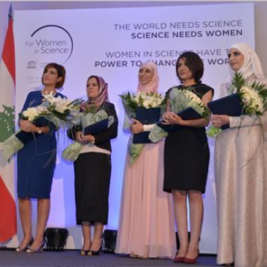 """برنامج """"لوريال – يونسكو من أجل المرأة في العلم"""" يكرّم خمس باحثات عربيات"""