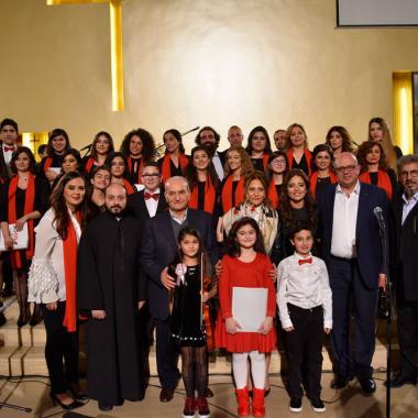 """ريسيتال ميلادي للإحتفال بأول عمل موسيقي لأكاديمية """"Voice by Nadine Nassif"""""""