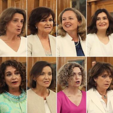 11 امرأة و6 رجال في الحكومة الإسبانية الجديدة