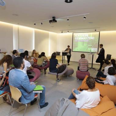 إعادة افتتاح معهد غوته في لبنان