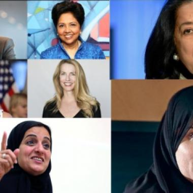 ثلاث نساء عربيات في قائمة فوربس لأقوى 100 امرأة في العالم