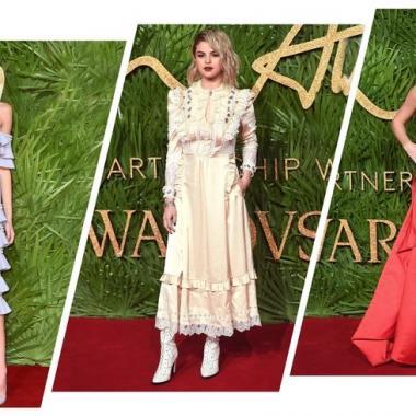 أجمل الاطلالات في حفل جوائز الأزياء البريطانية 2017!