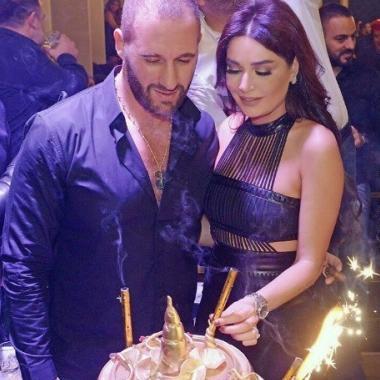 سيرين عبد النور تتابع نشر صور عيد ميلادها