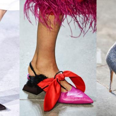 أحذية خيالية على منصة نيويورك لخريف مجنون ثائر!