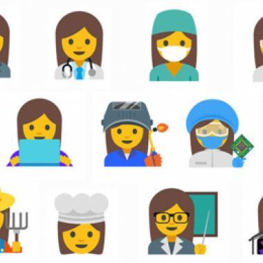 غوغل: رموز تعبيرية جديدة emoji للمساواة بين الجنسين