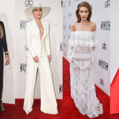 أناقة وبريق في أزياء ليلة American Music Awards