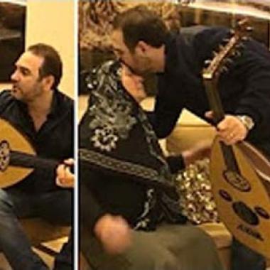 """بالفيديو: والدة وائل جسار تبكي تأثراً بغناء ابنها لها """"ست الحبايب"""""""
