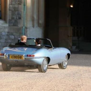 ما هو لغز رقم لوحة سيارة زفاف الأمير هاري وميغان ماركل؟