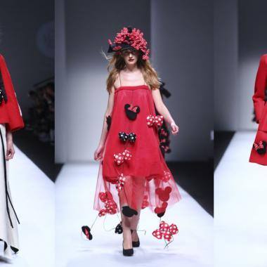 أسبوع الموضة في شنغهاي استلهم أزياءه منMickey Mouse!