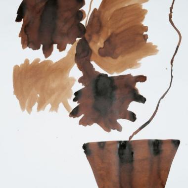 أزهار ديدييه لونوريه تقدم نفسها بنفسها في غاليري أليس مغبغب