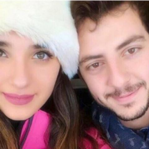 الكشف عن حبيب ملكة جمال لبنان ساندي تابت