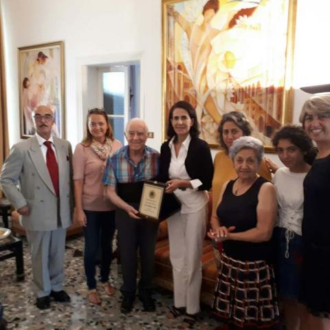 جمعية لبنان العطاء تكرّم فكتور حداد