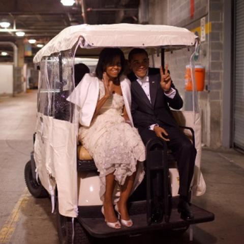 الرئيس باراك أوباما لزوجته: أحبك
