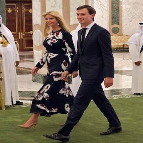 إقبال كبير على شراء فستان ايفانكا ترامب