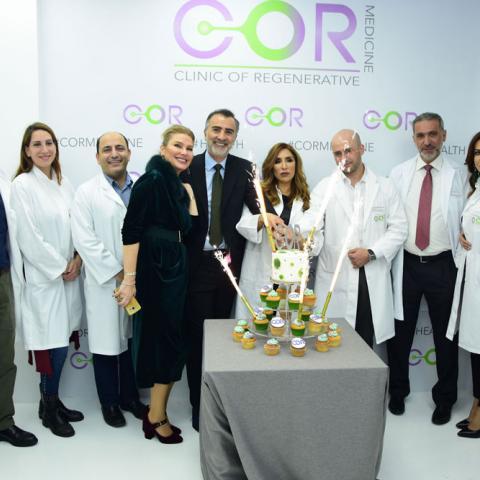 افتتاح عيادة COR Medicine في بيروت