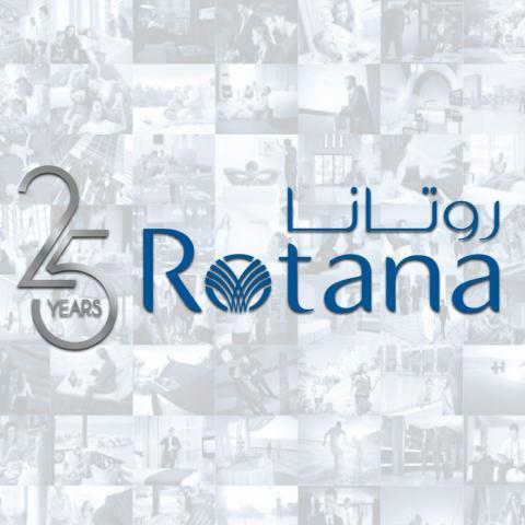 روتانا تحتفل بـ 25 عاماً من النجاح في إدارة الفنادق