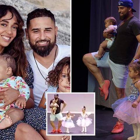 هدّأ من روع صغيرته على المسرح بالرقص معها فحصد شهرة عالمية!