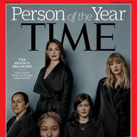 """مجلة """"تايم"""" اختارت""""كاسرات الصمت"""" شخصية العام"""