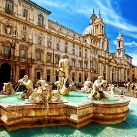 روما وساحر المرمر