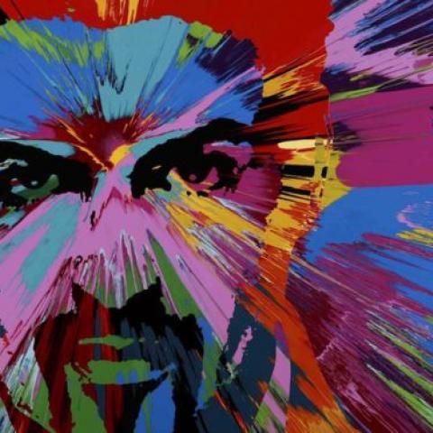 لوحة في حب جورج مايكل بـ580 ألف دولار