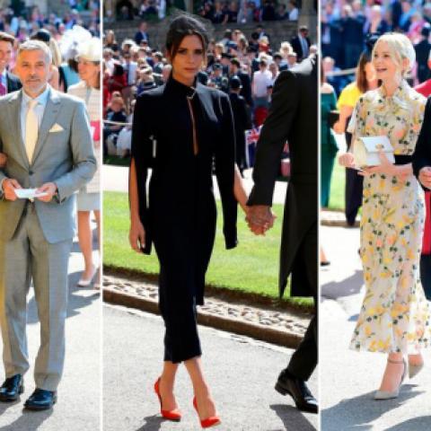 أفضل ١٠ ضيفات خطفن الأنظار في الزفاف الملكي