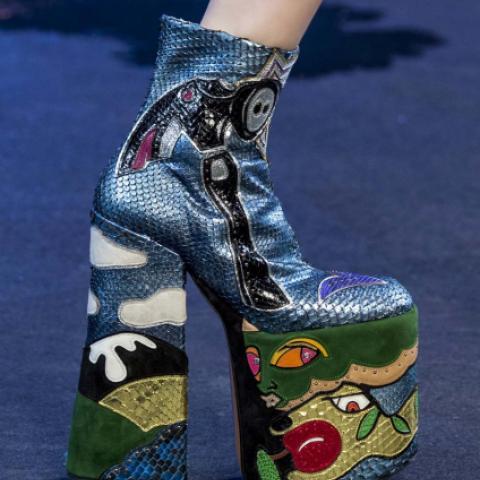 اكتشفي اتجاهات الموضة لأحذية ربيع وصيف 2017
