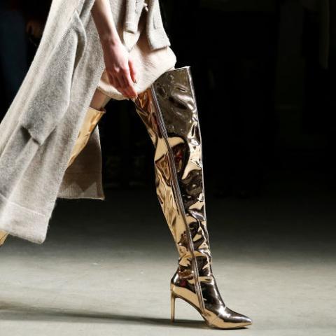 أحذية خارج الزمان ضمن أسبوع الموضة النيويوركي