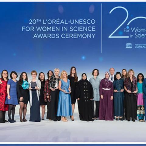 """برنامج لوريال – اليونسكو """"من أجل المرأة في العلم""""  يحتفل بعامه العشرين في باريس"""