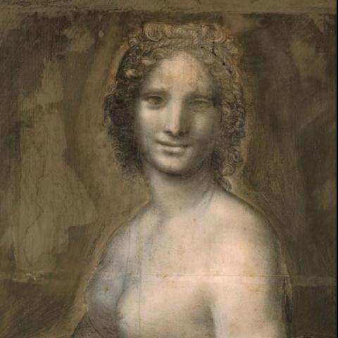 ليوناردو دا فينشي والموناليزا العارية