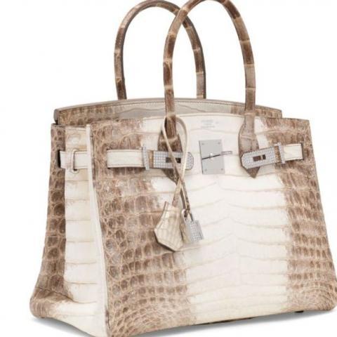 200 ألف دولار ثمن هذه الحقيبة المرصعة بالماس!