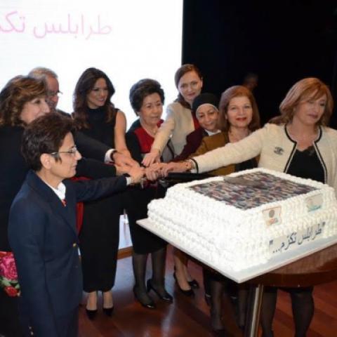 """""""أكيد فينا سوا"""" و""""الصفدي الثقافي"""" يكرمان ثماني سيدات رائدات من طرابلس"""