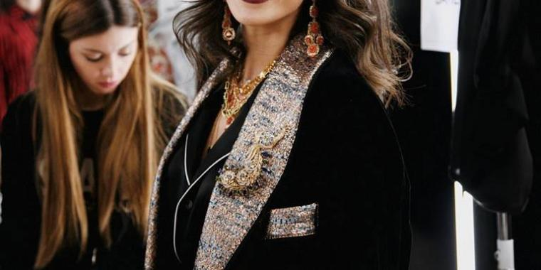 لانا الساحلي أول امرأة عربية على منصة Dolce & Gabbana في ميلانو