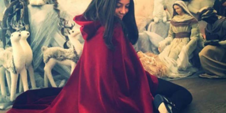 ابنة مايا دياب أميرة في عيدها