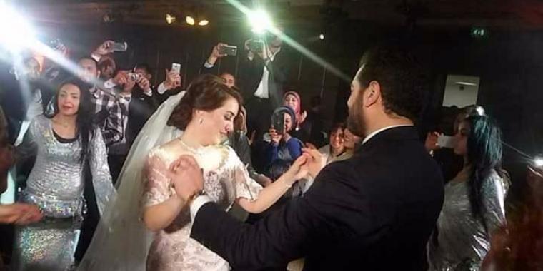بالصور: زفاف أول لكندة علوش وعمرو يوسف