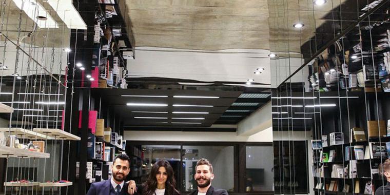إلتقاء الفنّ والعمارة في REM Beirut