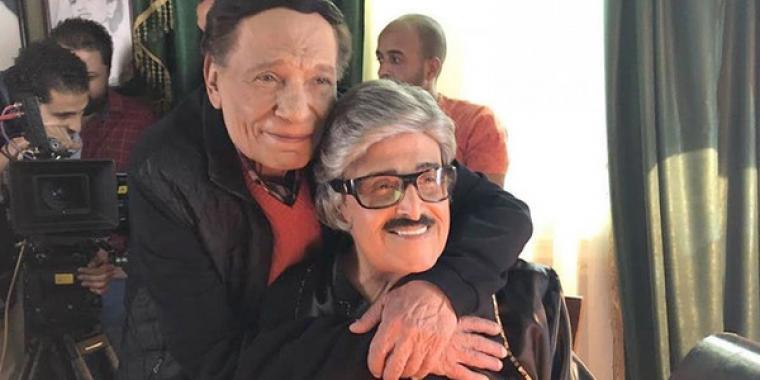 بعد 33 عاماً عادل إمام وسمير غانم يلتقيان من جديد