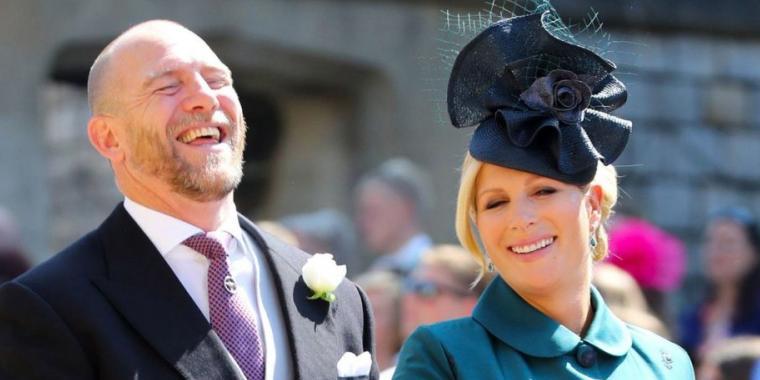 زارا حفيدة الملكة إليزابيث ترزق بمولودة ثانية