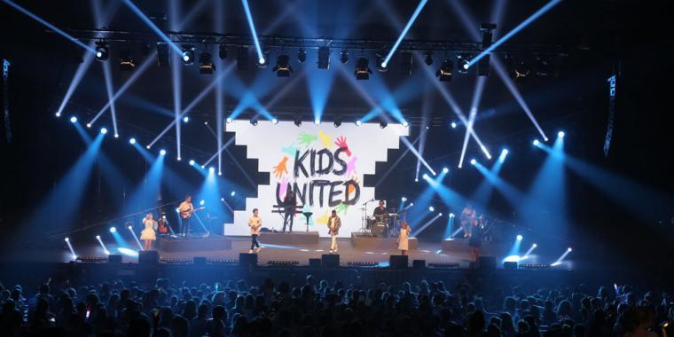 Kids United في أعياد بيروت