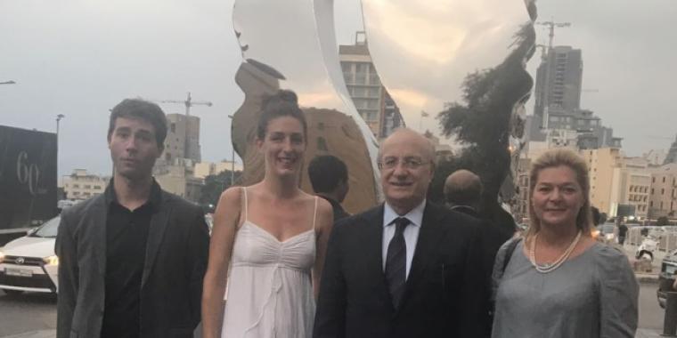 """إفتتاح الدورة الخامسة من """"بيروت آرت ويك"""""""