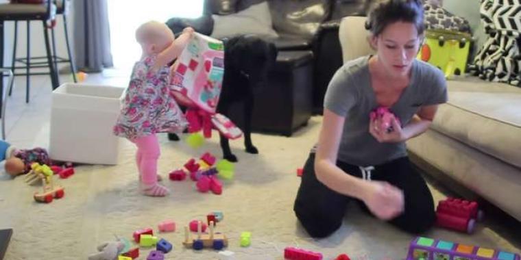 نصائح عملية تساعدين بها أطفالك في المحافظة على نظافة المنزل وترتيبه