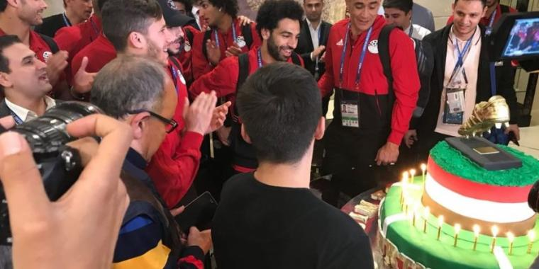 مفاجأة سارة لمحمد صلاح بعد خيبة هدف أورغواي
