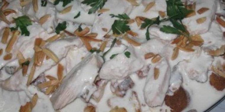 فتة الدجاج
