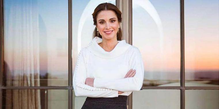 الساحر كريكور جبوتيان يزيد الملكة رانيا تألقاً!