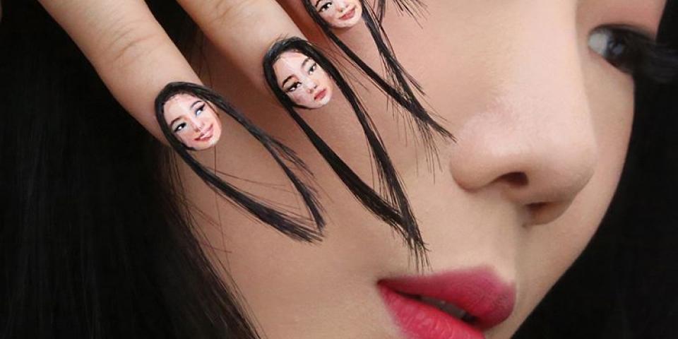 """""""أظافر الشعر"""" آخر صيحة في عالم الجمال وبدء تسجيل ميل لها!"""