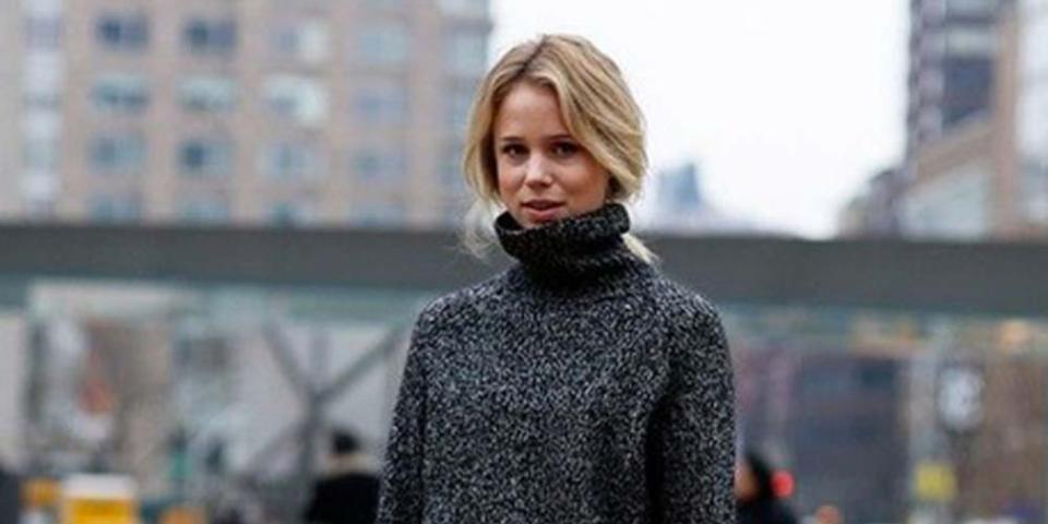 15 طريقة لارتداء الياقة العالية الملفوفة